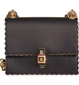 Fendi Small Kan I Scallop Leather Shoulder Bag.jpg